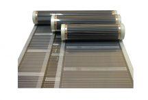 D508 fűtőfilm,fűtőfólia 130w/m2 (80cm széles)