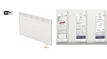 BEHA Fűtőpanel PV10 1000W wifi
