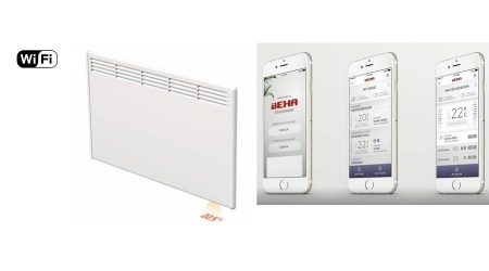 BEHA Fűtőpanel PV6 600W wifi